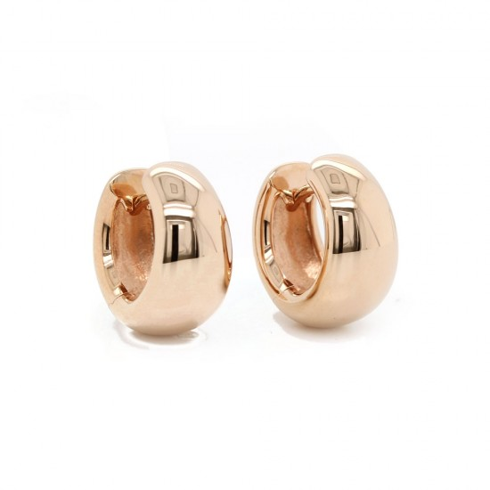 "Rose Gold ""Huggie"" Earrings"