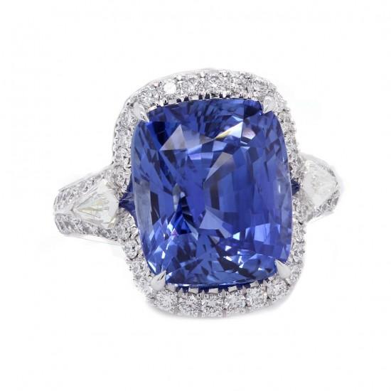 Blue Sapphire Custom Ring