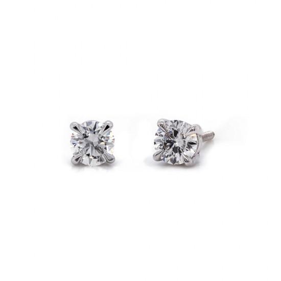 0.48 Carat Diamond Stud Earrings