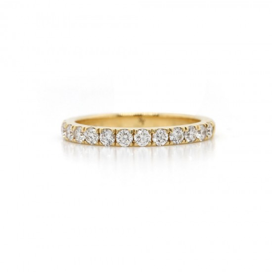 Diamond Pave Band 0.82 cttw