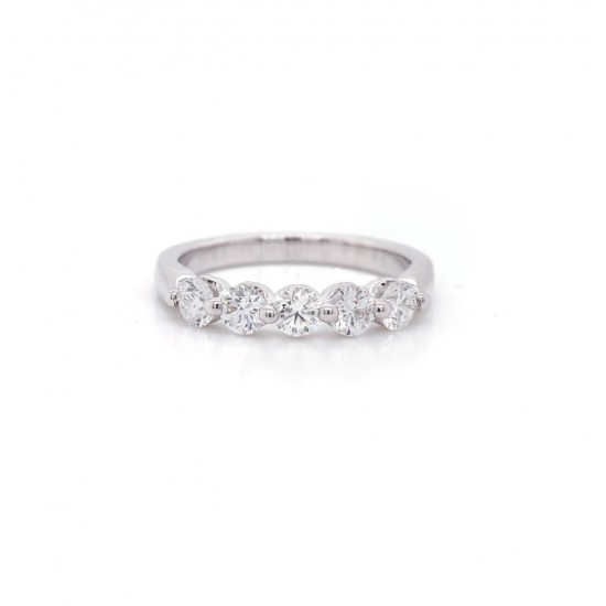 Diamond Royal Prong Band 0.70 cttw