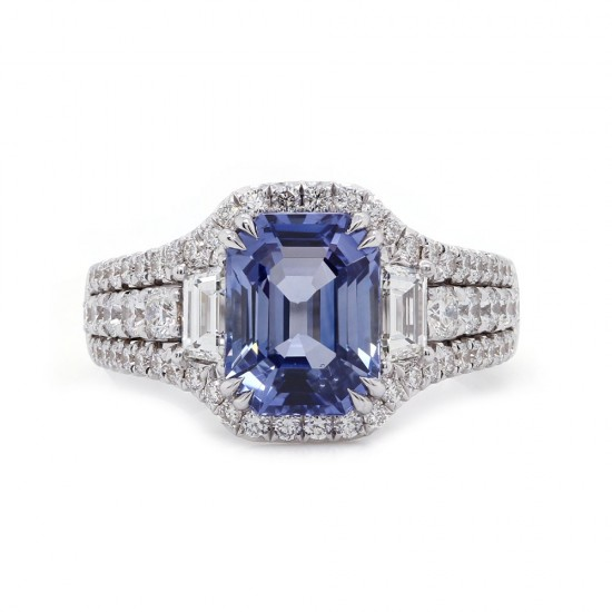 Sky Blue Sapphire Ring