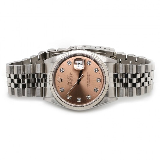 Rolex Datejust 36mm Pink Diamond Dial