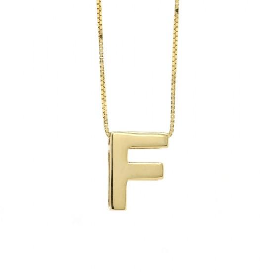 'F' Initial Pendant