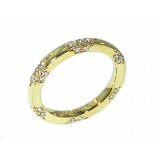 Michael B. Lace 18k gold diamond eternity band
