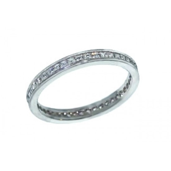 Jeff Cooper asscher diamond eternity band