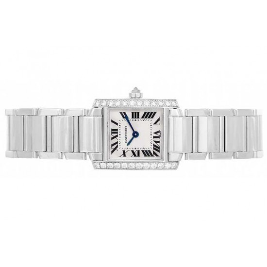 Cartier Tank Francaise in White Gold