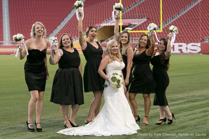 Wedding at Levi's Stadium Giveaway Winner